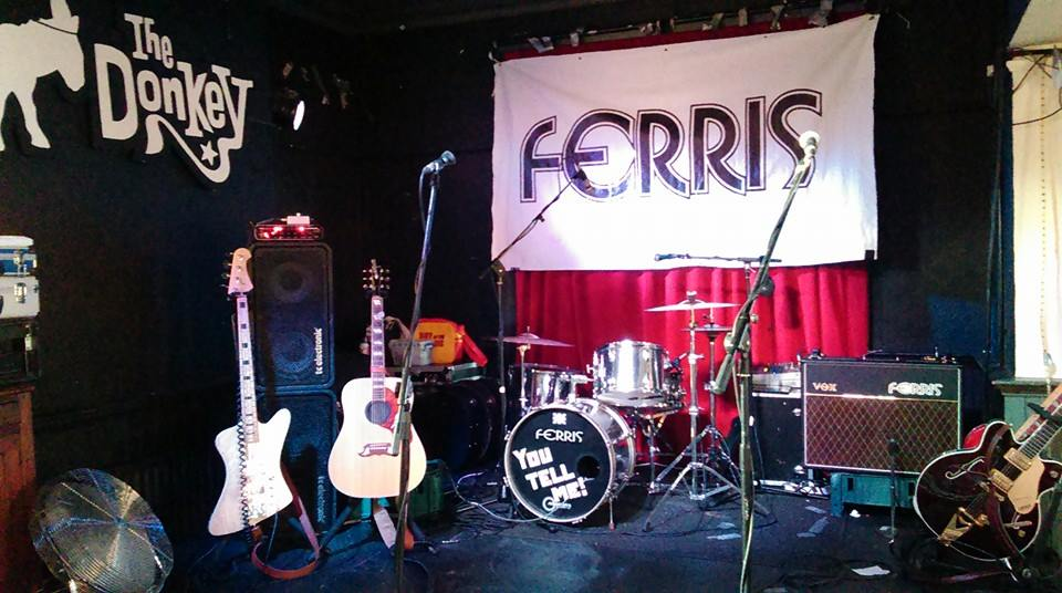 Ferris - stage-ready at The Donkey, Leicester